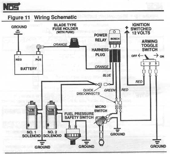 nitrous fuel pressure safety switch wiring fuel free printable wiring diagrams